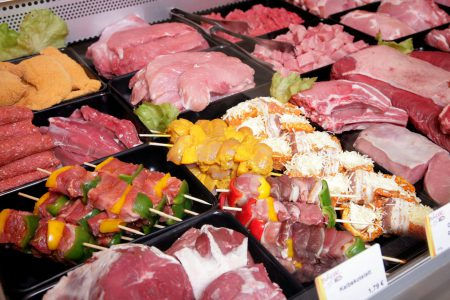 Fleisch aus der Metzgerei